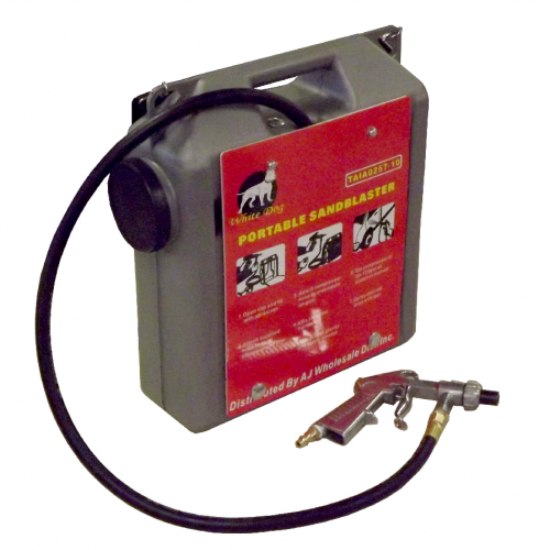 Why you should purchase a portable sandblaster